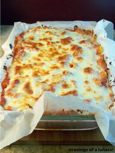 Cravings of a Lunatic: Meatless Mondays- Meatless Pasta Bake Vegetarian Recipes, Cooking Recipes, Pasta Recipes, Ovo Vegetarian, Great Recipes, Favorite Recipes, Pasta Bake, Vegan Dishes, Vegan Food