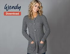 Free Wendy Cardigan Pattern - LoveKnitting Blog