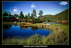 Greer log Cabins Resort in Greer,Arizona