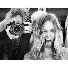 black and white photography Nina Hagen, Cara Delevingne, Portraits, Jolie Photo, Forever Young, Black And White Photography, Make Me Smile, Cute Couples, Power Couples
