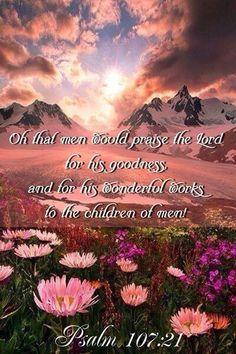 Psalm 107:21