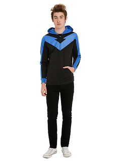 Fight Crime Casually In These Hawkeye and Nightwing Hoodies