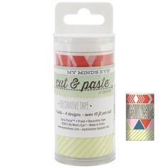My Mind's Eye PRESH Cut & Paste Paper Decorative Tape $7.99