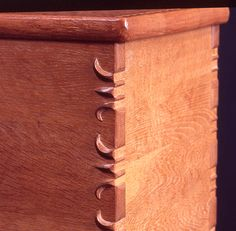 The hawk-nail joint by Japanese woodworker Kintaro Yazawa is a stunning example of exposed joinery. Show us what you can do by entering our Expose Yourself! Gallery contest. - CLICK TO ENLARGE