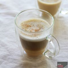 Yum! A delicious pumpkin coffee drink. If you're feeling cozy at home and don't want to run out to your favorite coffee shop for some pumpkin spice coffee goodness, why not make your own skinny version? | MomTrends