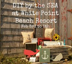 Still time to book our DIY by the Sea at White Point Beach Resort February 3rd to 5th in South Shore Nova Scotia, an all inclusive creative and fun weekend
