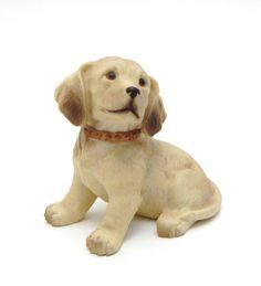 Labrador Retriever Yellow Dog Pup Homco Figurine 1408 #Homco #LabradorRetriever #Dog