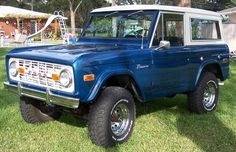 '74 Ford Bronco. #classic