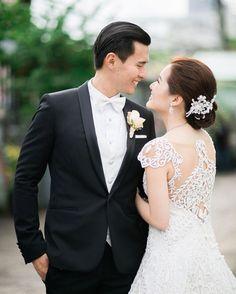 Romantic Couple |  http://brideandbreakfast.ph/2015/05/25/the-breathtaking-blush/ | Photography: Toto Villaruel