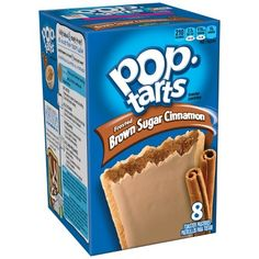 Pop-Tarts Brown Sugar Cinnamon Made for Fun! Pop Tarts Brown Sugar Cinnamon, more pop tarts for you to enjoy made by Kellogg's. Breakfast On The Go, Best Breakfast, Breakfast Recipes, Balanced Breakfast, Breakfast Ideas, Hot Fudge, Brown Sugar Pop Tarts, Cinnamon Pop Tart, Recipes