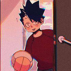 Kuroo Tetsurou, Kenma, Haikyuu Fanart, Haikyuu Anime, Old Anime, Manga Anime, Haikyuu Characters, Anime Characters, Volleyball Anime