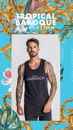 Discover the new amazing Gianni Kavanagh's Collection: Tropical Baroque! With pieces for him and for her, you can find Tees, dresses, bodies, shorts, vests and more! Click here to find it all! Streetwear Fashion, Urban Fashion, Baroque, Vests, Bodies, Tank Man, Street Wear, Tropical, Shorts