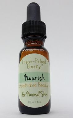 Nourish Concentrated Beauty Oil for Normal Skin