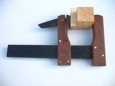 Grampo de luthier, madeira DIY