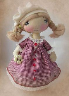 Ароматизированные куклы ручной работы. Ярмарка Мастеров - ручная работа Наташка Текстильная кукла. Handmade.