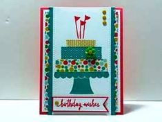 Peanuts and Peppers Papercrafting: Make It Monday - Stampin' Up! Build A Birthday Card Sneak Peek (The New Catalog Goes Live Tomorrow!)