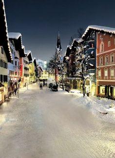 Kitzbühel Old Town, Tyrol, Austria | by kitzmitz