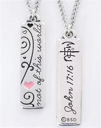 NOTW John 3:16 necklace - Just LOVE it! ~KSB
