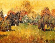"""""""Soleil du Midi ou Le Jardin du Poète""""  Van Gogh, 1888"""