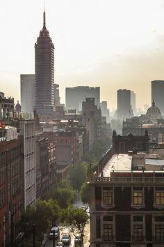 Vista de la torre latinoamericana, ciudad de México