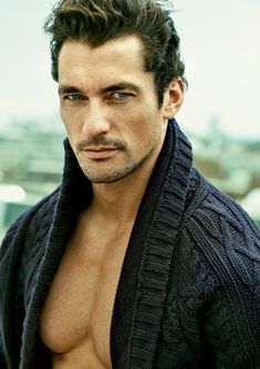 David Gandy for Esquire Malaysia, Fall Fashion Issue - September 2014. Photographed on location in London by Tomo Brejc Studio. Grooming by Larry King.  Locations include Claridge's and Repton Boxing Club, The Bath House Cheshire St.