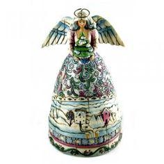 Landscape Sleeps-Winter Mini Angel Figurine