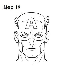 how to draw the outline of america