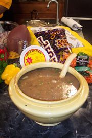 Red Beans and Rice Gumbo from Chef John Folse. Sounds pretty yummy on a cold nasty day!