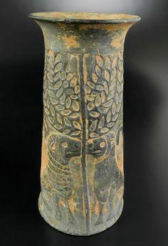 Jiroft culture stone vase Iran Third millennium BCE stone