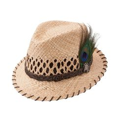 35396a2aa3c Charlie 1 Horse Wild Horse - Straw Fedora Hat