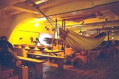 Battle of Cape St. Vincent: HMS Victory, the lower deck Room Hammock, Hms Victory, Model Ship Building, Lower Deck, Model Ships, 18th Century, Lowes, Victorious, Nautical