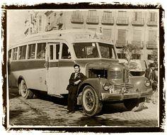 AutoBUS, año 1953. Alcantarilla-Murcia.Foto de Jesús Cartagena. pza. Gz. Conde