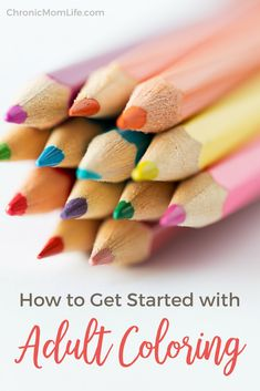 Do you find yourself feeling stressed and tense, to the point that you feel you're going to burst? Pull out a coloring book! Learn how to get started with adult coloring books