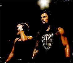 Dean and Roman smackdown 9.17.15