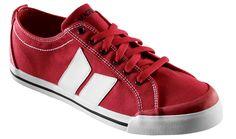 Macbeth Vegan Shoes in Red/White Eliot