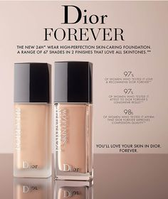 Dior Forever Skin Glow Foundations Spring 2019