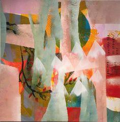 """Saatchi Art Artist Randi Antonsen; Painting, """"spring moon"""" #art"""