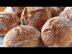 Pan bollitos blancos para bocadillos del cole ¡Sin azúcar!