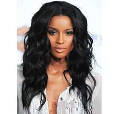"20"" New Female Black Long Wave Hair Natural Synthetic Wigs Cheap High Quality Heat Resisting Wig For Africa Black Women's Wigs Nail That Deal http://nailthatdeal.com/products/20-new-female-black-long-wave-hair-natural-synthetic-wigs-cheap-high-quality-heat-resisting-wig-for-africa-black-womens-wigs/ #shopping #nailthatdeal"