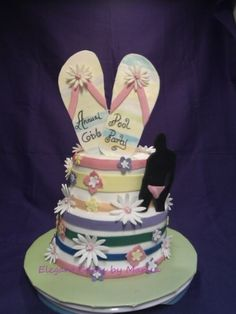 Edible Art of the Day Winner for Wednesday August 22, 2012 is Marisa Booker and her Girls Night Out Party.