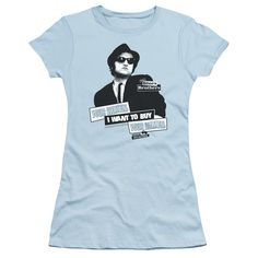 """Checkout our #LicensedGear products FREE SHIPPING + 10% OFF Coupon Code """"Official"""" Blues Brothers / Women - Short Sleeve Junior Sheer - Blues Brothers / Women - Short Sleeve Junior Sheer - Price: $34.99. Buy now at https://officiallylicensedgear.com/blues-brothers-women-short-sleeve-junior-sheer"""