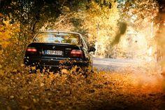 BMW E39 M5 black fall