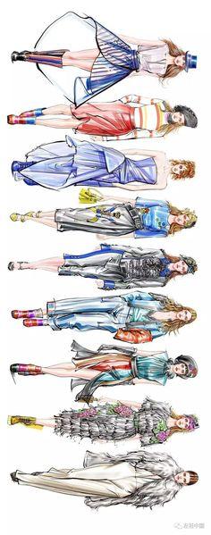 Stunning Draw a Fashionable Dress Ideas. Exhilarating Draw a Fashionable Dress Ideas. Textiles Sketchbook, Fashion Design Sketchbook, Fashion Illustration Sketches, Fashion Design Drawings, Fashion Sketches, October Fashion, Fashion Artwork, Dress Sketches, Fashion Figures