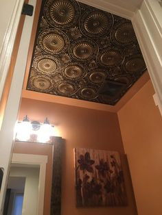 Decorative Tin Ceiling Tiles Faux Tin Ceiling Tiles Cheap  Decorating Ideas  Pinterest  Faux