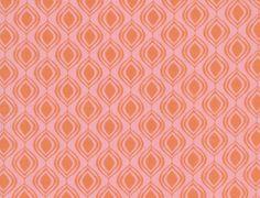 Peach Shine 100% cotton fabric 1 yard x 44 inches. $10.50, via Etsy.