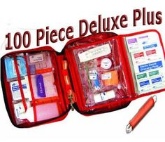 AKC Pet First Aid Kit *DELUXE PLUS*, Large 100 Piece Kit with Tick Removal Tool -- Check out this great product.