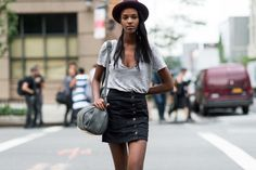 North Fashion: NEW YORK FASHION WEEK STREET STYLE SPRING SUMMER 2016 - NAJLEPSZE STYLIZACJE
