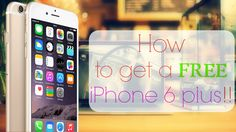 ✔ Do not miss this chance to win a iPhone 6! Take it today! ✔ http://winsiphoners.blogspot.com/