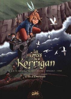 Couverture Les Contes du Korrigan, tome 05 : L'île d'émeraude