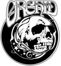 Logo for doom metal band Orchid.